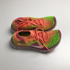 Nike Free Flyknit Shoes Womens Size 7.5